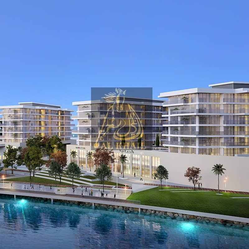 2 Affordable Beautiful Studio Apartments for sale in Sharjah Waterfront City | Perfect Location | Facing Beach View