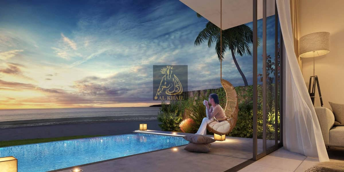Amazing Spacious 5BR Villa for sale in Sharjah Waterfront City | Easy Payment Plan | Stunning Beach Views