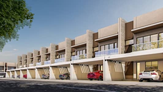 2 Bedroom Townhouse for Sale in Meydan City, Dubai - 2 BHK Townhouse in Meydan! 10% Down Payment only!