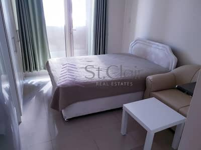 Studio for Rent in Dubai Marina, Dubai - Large Studio w/ Balcony | Low Floor | Marina View