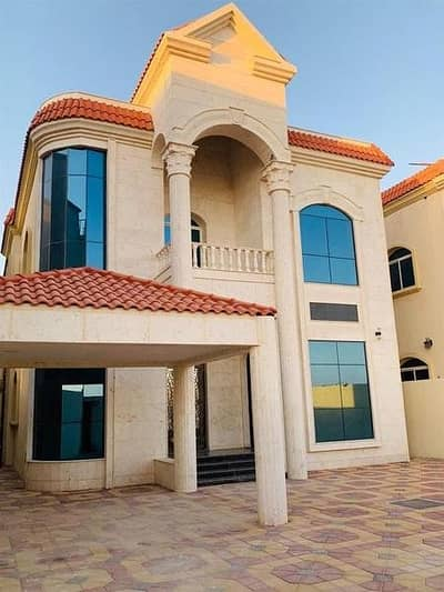 5 Bedroom Villa for Sale in Al Mowaihat, Ajman - Villa for sale Central air conditioning personal finishing close to Sheikh Ammar Street and opposite