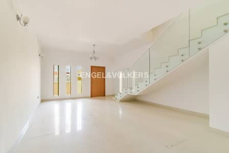 4 Bedroom Townhouse for Rent in Jumeirah Village Circle (JVC), Dubai - Large | Pool Access | Semi-Closed Kitchen
