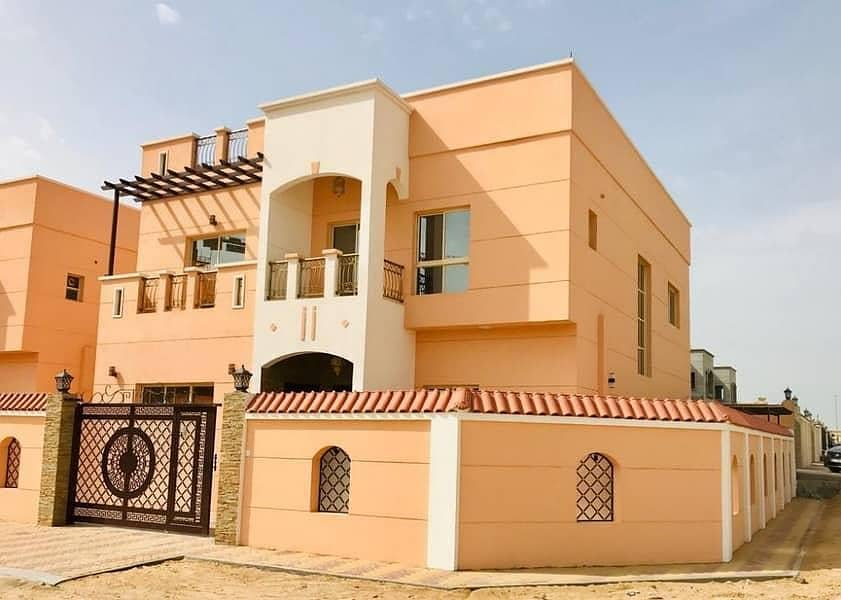 One of the best finishes and best locations Villa Corner 50 meters from Sheikh Ammar Street