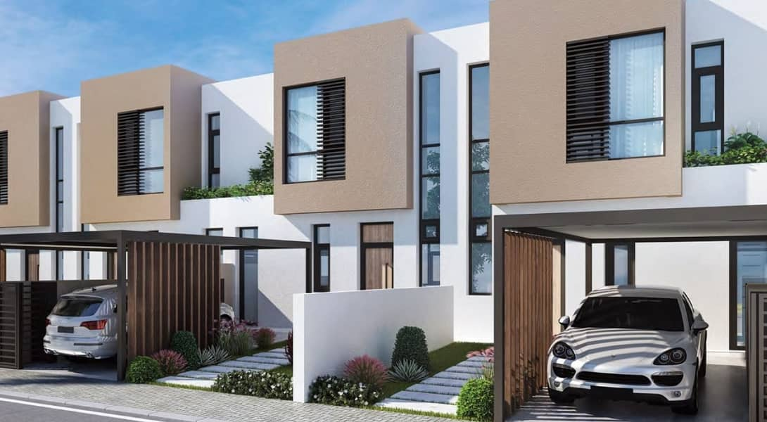 2 OWN luxury villa in sharjha with ZERO SERVICE CHARGE FOR LIFE