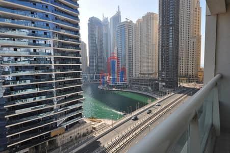 شقة 2 غرفة نوم للبيع في دبي مارينا، دبي - Partial Marina /Pool view Two- BR Marina View B