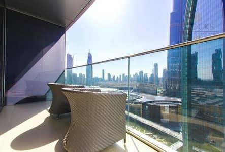 2 Bedroom Flat for Sale in Downtown Dubai, Dubai - Balcony