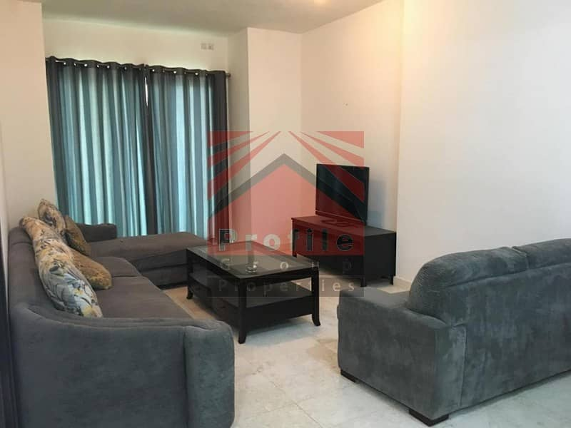 Fully Furnished 1 Bedroom with Partial Sea View for Rent in Marina Heights