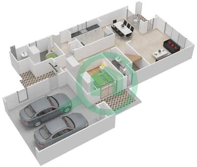 Azalea Floor Plans Arabian Ranches 2 Bayut Dubai