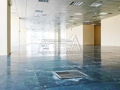 Office for Rent in Al Muroor, Abu Dhabi - A Full Floor Office Space for Rent on Muroor Road! Strategically Located