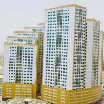 فلیٹ 2 غرفة نوم للبيع في عجمان وسط المدينة، عجمان - غرفتين وصاله للبيع  ابراج الؤلؤه بسعر مميز