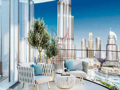 3 Bedroom Apartment for Sale in Downtown Dubai, Dubai - Full Burj Khalifa View |Pay 10% To  book