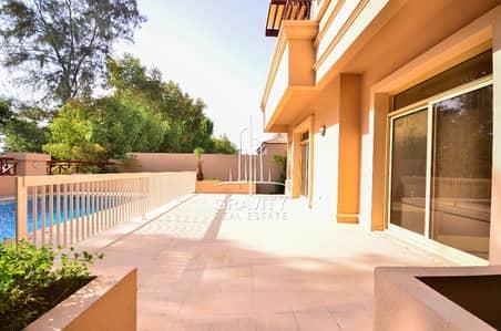 4 Bedroom Villa for Sale in Al Raha Golf Gardens, Abu Dhabi - Elegant and luxurious 4BR villa in Gardenia w/ pool