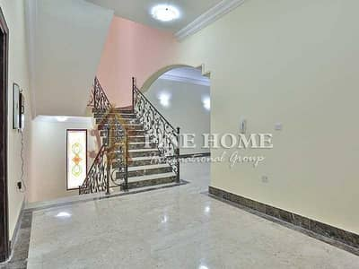 5 Bedroom Villa for Rent in Khalifa City A, Abu Dhabi - Catchy 3BR Villa+Private Entrance