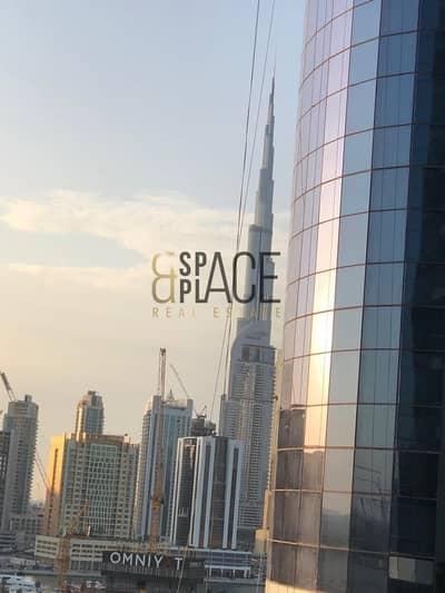 شقة فندقية 3 غرفة نوم للايجار في الخليج التجاري، دبي - 3BR + Maid's Luxury Hotel Apartment | 180K / 6 CHQS | Burj Khalifa and Creek View