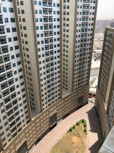 1 Bedroom Apartment for Sale in Ajman Downtown, Ajman - For sale room and lounge area 900 2 bathrooms Balcony Balcony Kitchen King Mugra 26500 DH Floor 15 C