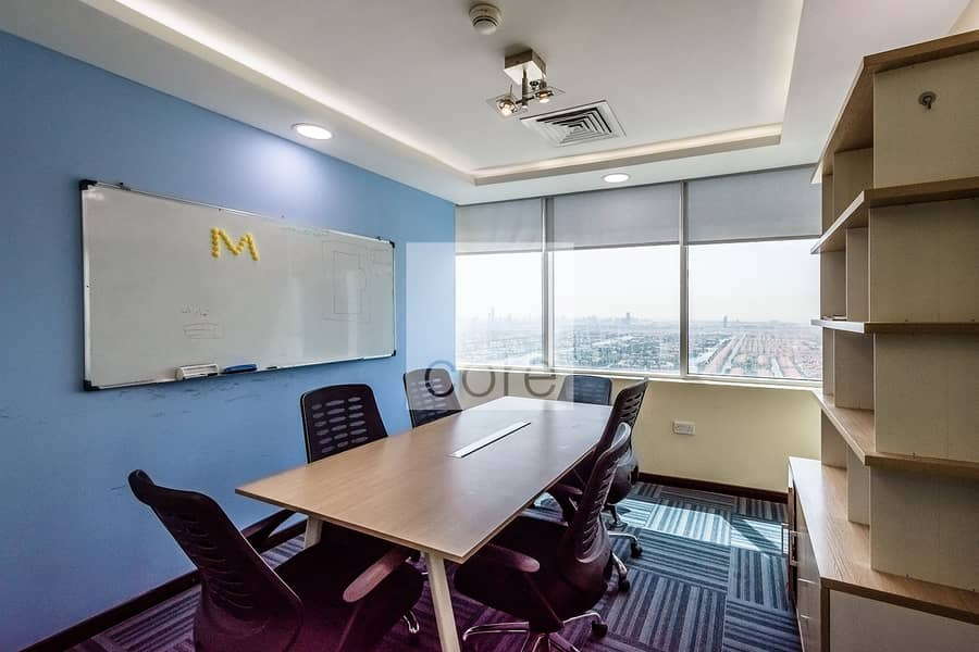 2 Fully Fitted Office | High Floor | Parking