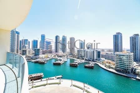 3 Bedroom Apartment for Sale in Dubai Marina, Dubai - Vacant 3 Beds | Full Marina View | Mid Floor