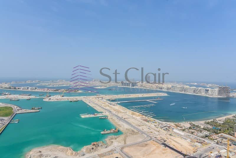 Cheapest Deal | Full Sea Marina View | Rented 2BR