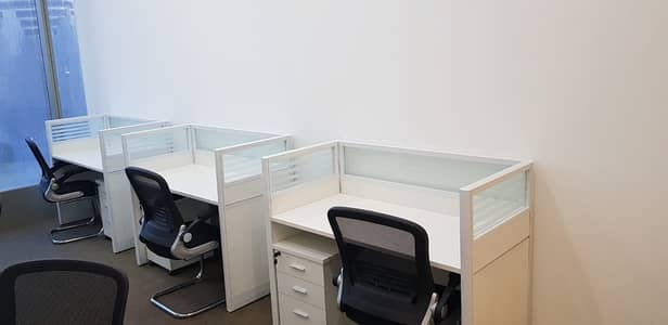 Office for Rent in International City, Dubai - FLEXI Desk for new Business Setup|Renewal of Trade License|Meeting Room|Inspection/Quota|One Year Tenancy Contact