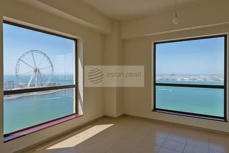 فلیٹ 3 غرفة نوم للبيع في مساكن شاطئ جميرا (JBR)، دبي - Most Exclusive 3BR+M with Panoramic Sea View