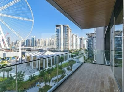 1 Bedroom Apartment for Sale in Bluewaters Island, Dubai - Ain Dubai view   Exclusive residences   No commission