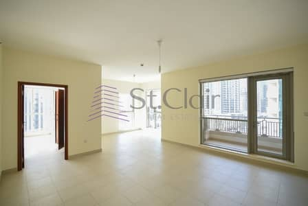 1 Bedroom Apartment for Sale in Downtown Dubai, Dubai - 1 Bed with Balcony + Study in BLVD   High Floor  