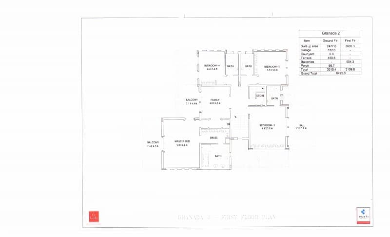20 5 Bedroom + Maid |Granada Villa | Ponderosa |The Villa