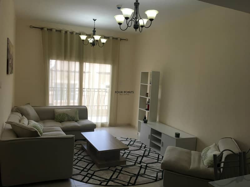 2 FULLY FURNISHED BRIGHT ONE BEDROOM