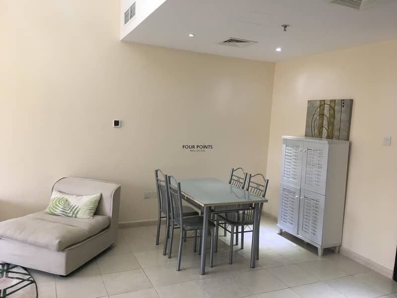 9 FULLY FURNISHED BRIGHT ONE BEDROOM