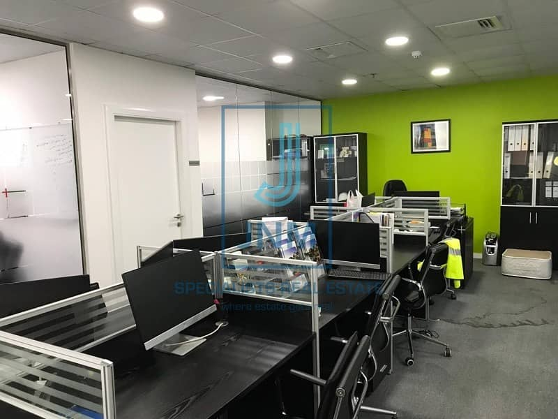 Fitted office/close to Dubai metro station
