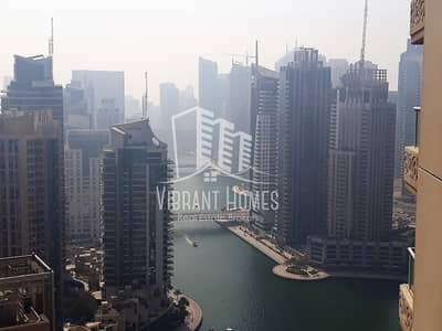 شقة 2 غرفة نوم للايجار في دبي مارينا، دبي - Fantastic Marina View|High floor| 2bedroom