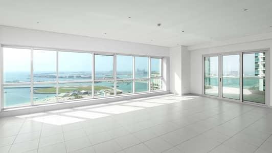 شقة 4 غرفة نوم للبيع في دبي مارينا، دبي - Four-Bedroom Apartment with Full View of Dubai Marina