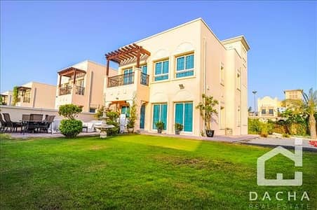 2 Bedroom Villa for Sale in Jumeirah Village Triangle (JVT), Dubai - VACANT NOW! / Fresh 2Br + M / Landscaped