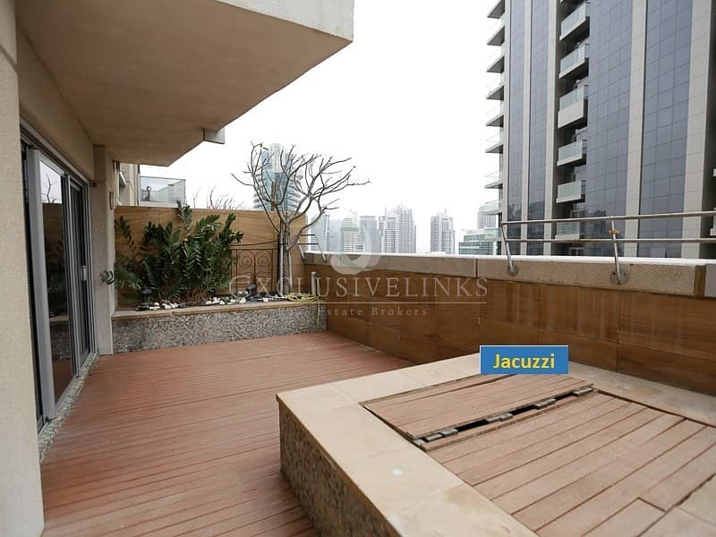 2 2BR + Jacuzzi sea/Marina view in Marina Tower