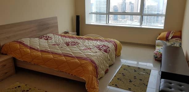Studio for Rent in Jumeirah Lake Towers (JLT), Dubai - Studio - Lake City Tower with Full Lake View