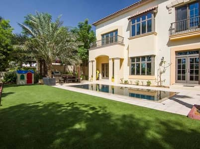6 Bedroom Villa for Sale in Jumeirah Golf Estate, Dubai - 4 Year Post Payment - AED800 Square Feet