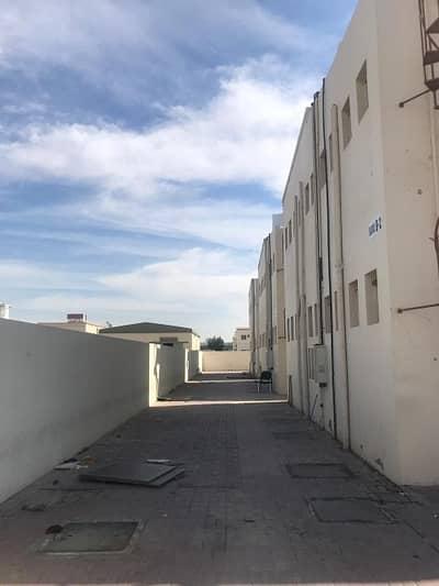 سكن عمال 12 غرفة نوم للايجار في الجرف، عجمان - سكن عمال في الجرف 12 غرف 40000 درهم - 4093880