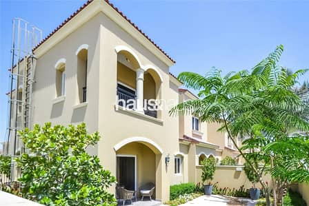 3 Bedroom Townhouse for Sale in Serena, Dubai - Large Semi-Detached Casa Dora 3-bed with Maids