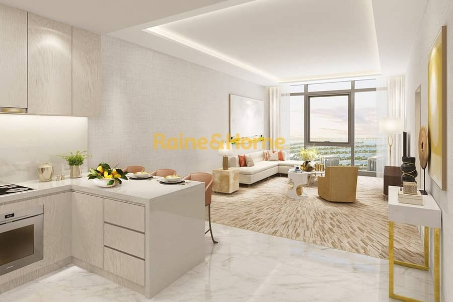 2 Fully Furnished Studio in The Palm Tower