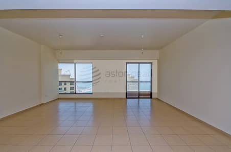 2 Bedroom Apartment for Rent in Jumeirah Beach Residence (JBR), Dubai - Partial Sea View | Fully Furnished | 2 Bedroom