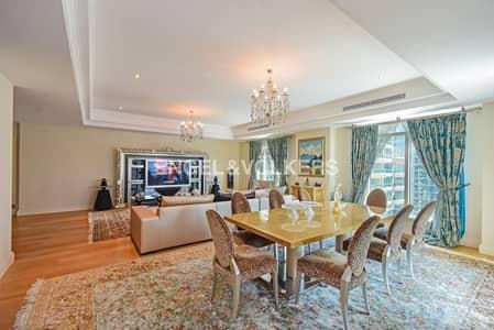 شقة 4 غرفة نوم للبيع في نخلة جميرا، دبي - Stunning Luxurious Apartment with Large Terrace