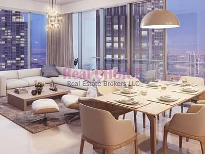 3 Bedroom Flat for Sale in Downtown Dubai, Dubai - Guaranteed High ROI Good Investment 3BR Apartment