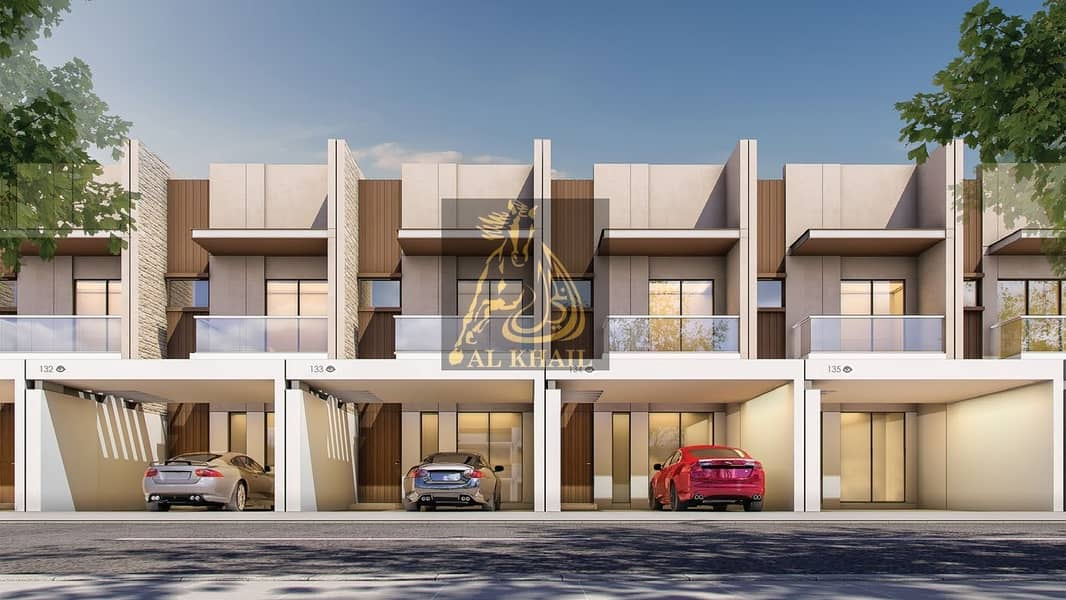 High-End 3BR Townhouse for sale in Meydan | Flexible Payment Plan |  Affordable Price | Community Views