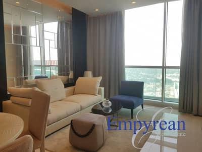 شقة 2 غرفة نوم للايجار في وسط مدينة دبي، دبي - Best Price HIgh Floor brand new furnished 2 bedroom