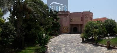 Amazing designer garden: 4 b/r independent high quality luxury villa + maids room + superb large landscaped garden