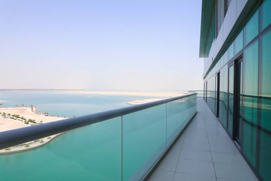 Furnished Penthouse with Huge Balcony & Sea View!