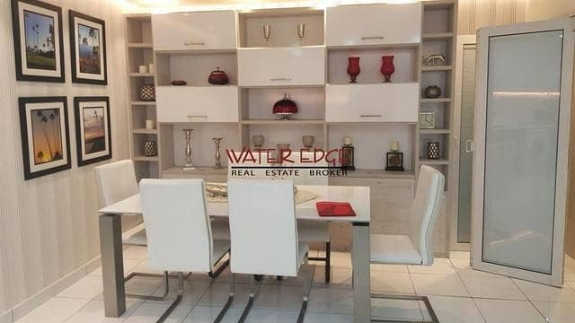 Amazing furnished 2 BR with study in Glitz I Brand new!