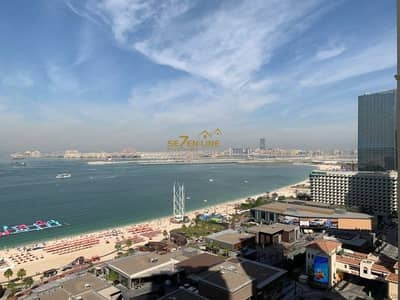 فلیٹ 3 غرفة نوم للبيع في مساكن شاطئ جميرا (JBR)، دبي - Vacant| 3BR plus Maids Room |Full Sea View|Furnished