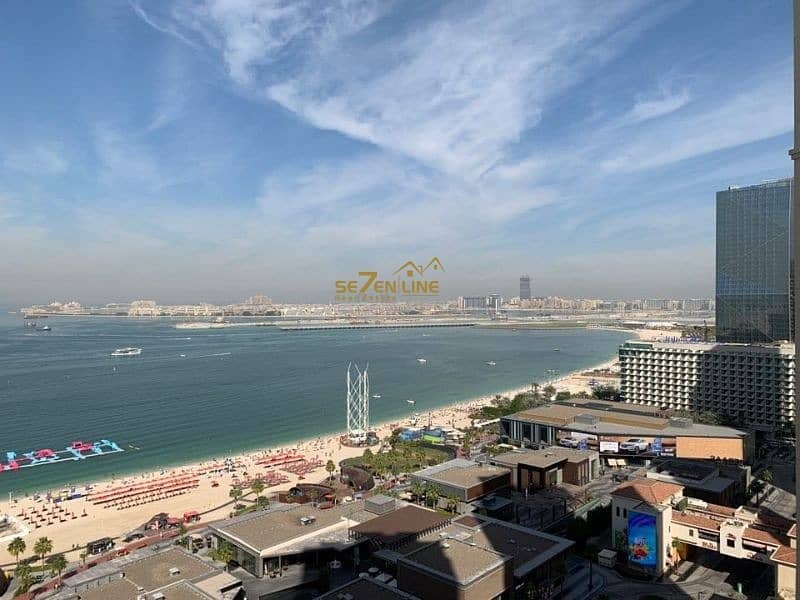 Vacant  3BR plus Maids Room  Full Sea View Furnished
