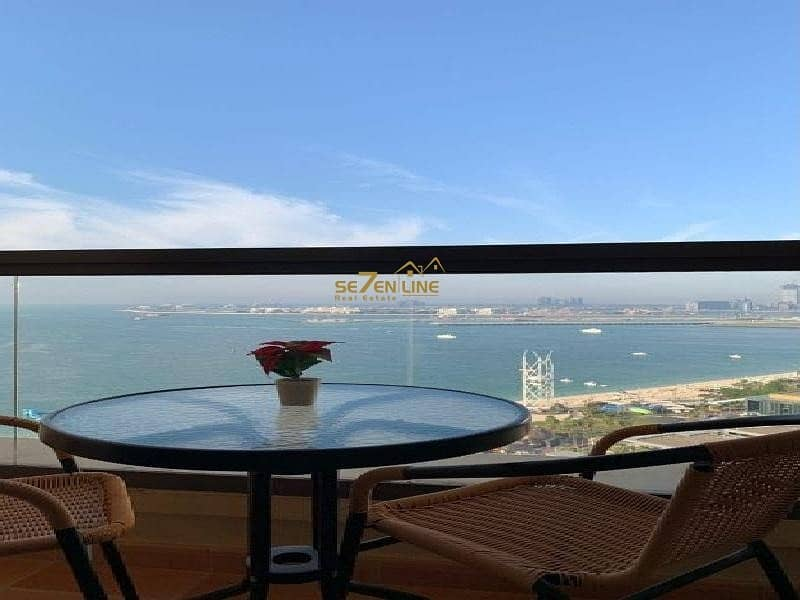 2 Vacant  3BR plus Maids Room  Full Sea View Furnished